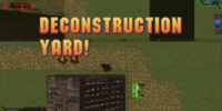 Deconstruction Yard!
