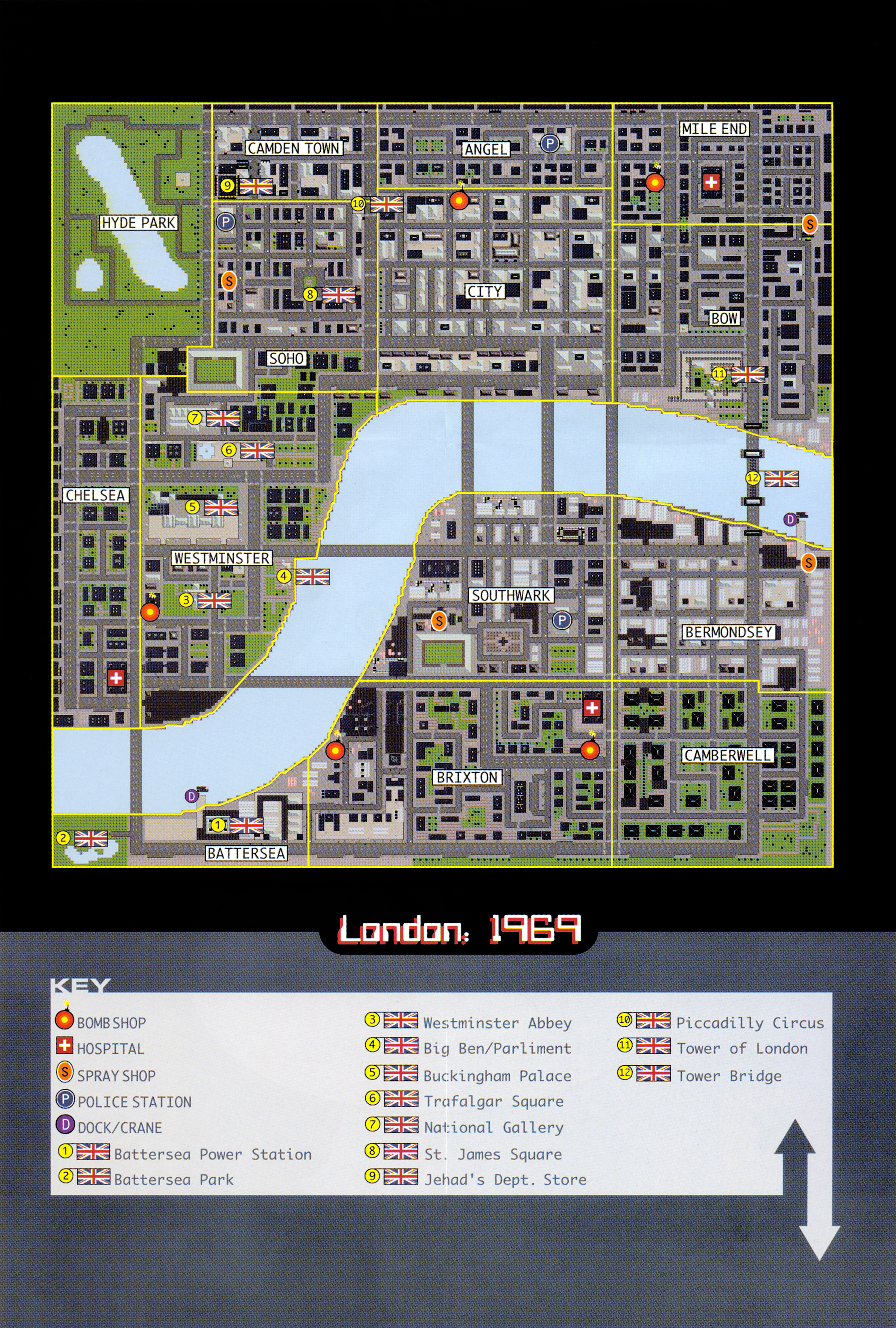 Gta London Map  London Map