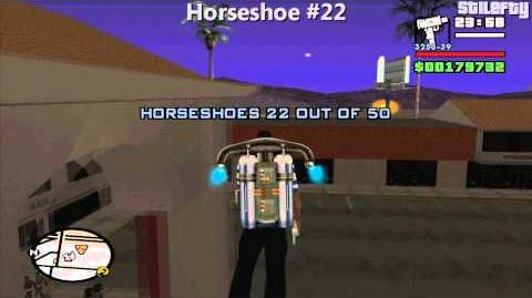GTA San Andreas - 50 Horseshoes Guide