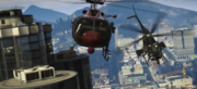 Helicopter Chase-GTAV