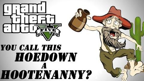 GTA 5 Online You Call This Hoedown a Hootenanny? (Funny Moments, Duels, Western Love)