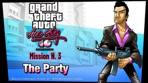 GTA Vice City - iPad Walkthrough - Mission 3 - The Party
