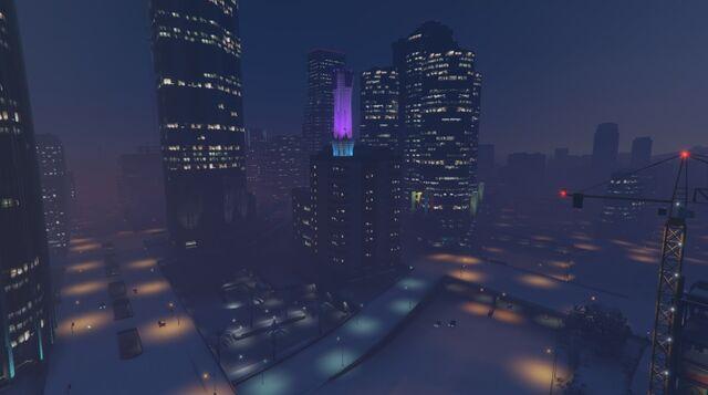 File:DowntownLS-GTAO-Snow-Night.jpg
