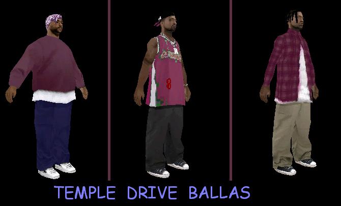 Temple Drive Ballas by Jeansowaty