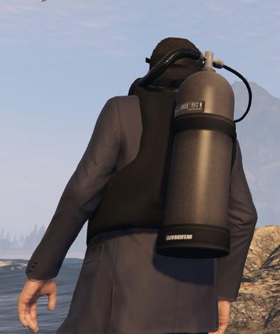 File:Scuba Suit GTAVpc Michael worn over a suit Back View.png