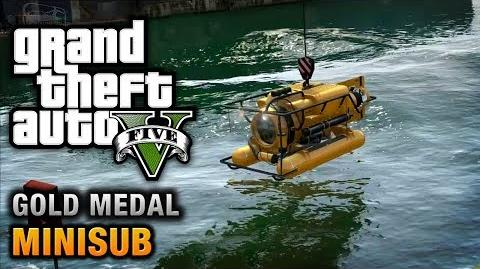 GTA 5 - Mission 29 - Minisub 100% Gold Medal Walkthrough