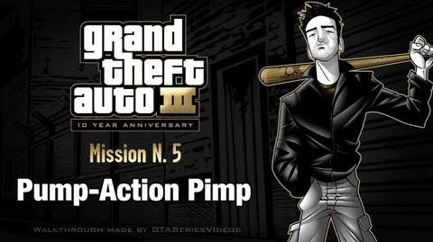 GTA 3 - iPad Walkthrough - Mission 5 - Pump-Action Pimp