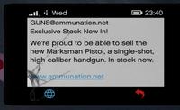MarksmanPistolPhoneAd-GTAV