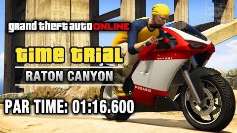 GTA Online - Time Trial 21 - Raton Canyon (Under Par Time)