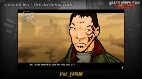 GTA Chinatown Wars - Intro & Mission 1 - Yu Jian
