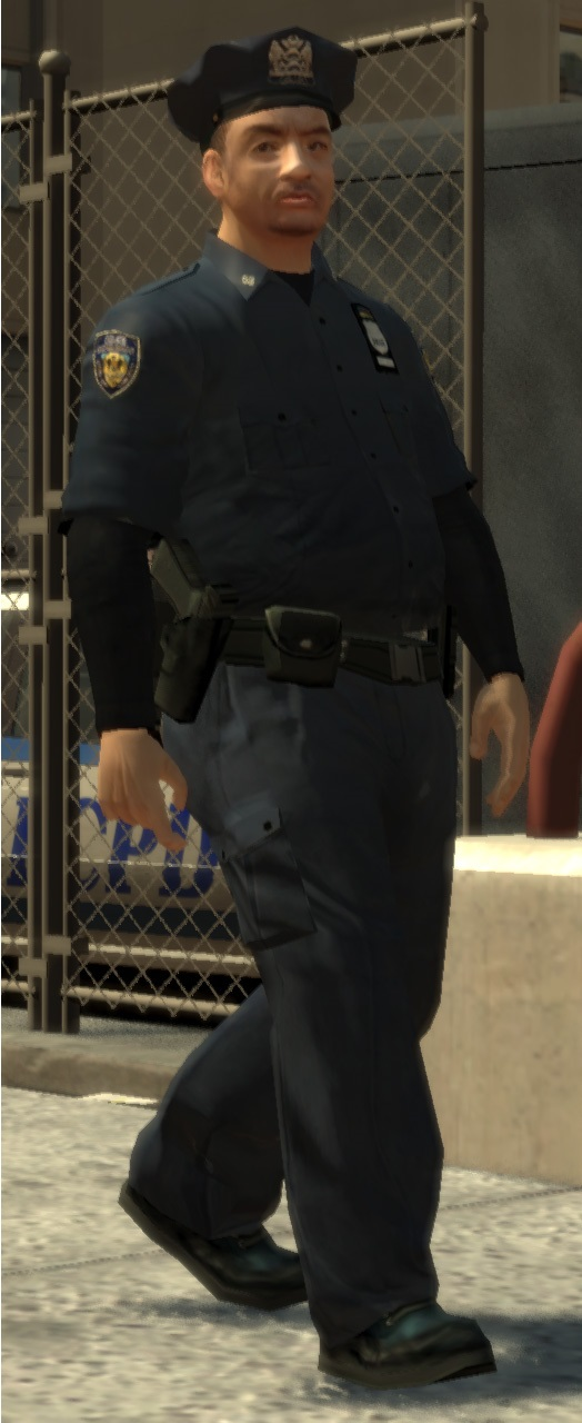 how to become a police officer in gta 4
