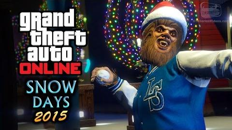 GTA Online - Snow Days, Tampa & Beast vs Slasher (Festive Surprise 2015 DLC)