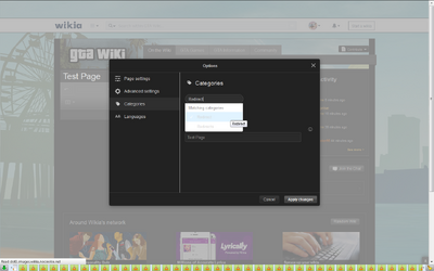 Screenshot-TestPage-ExampleOfDeletedRedirectCategoryAppearing