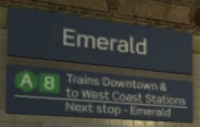 Emerald LTA Error Sign
