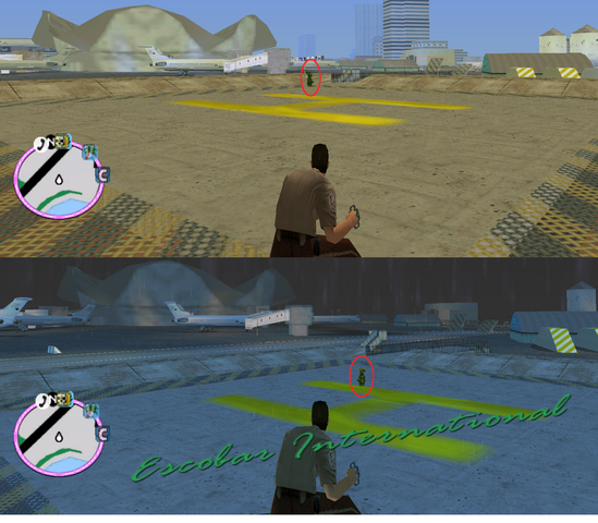 File:GTAVC HiddenPack 88 Centered on Helipad, W of Freight & Cargo bldg.png