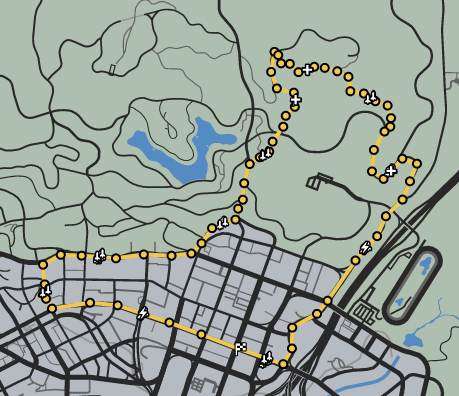 High Road GTAO Verified Map