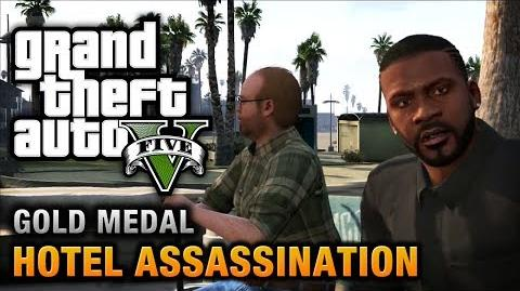 GTA 5 - Mission 33 - Hotel Assassination 100% Gold Medal Walkthrough