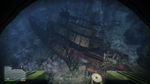 Wreck Olifantus North GTAV View