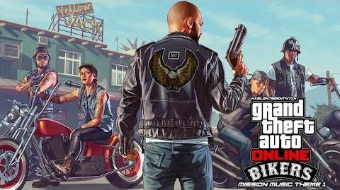 Grand Theft Auto GTA V 5 Online Bikers - Mission Music Theme 1