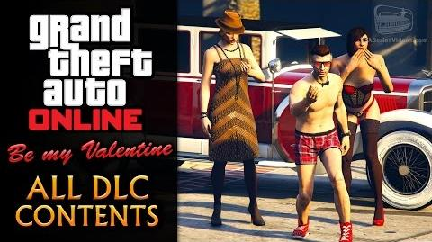 GTA Online Be My Valentine Update All DLC Contents