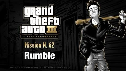 GTA 3 - iPad Walkthrough - Mission 62 - Rumble