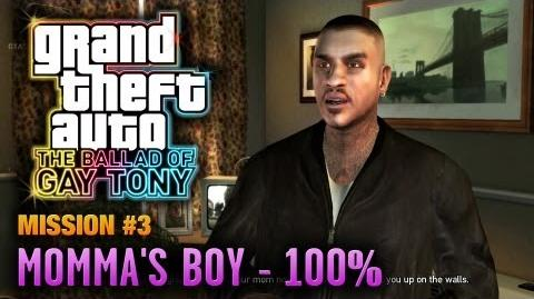GTA The Ballad of Gay Tony - Mission 3 - Momma's Boy 100% (1080p)