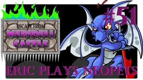 Let's Play Neopets 51 Escape from Meridell Castle