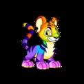 Kougra rainbow