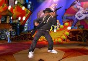 Guitar Hero Aerosmith (Wii) - DMC 's guitar