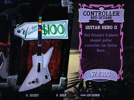Controller, Guitar Hero II