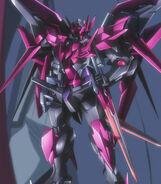 Gundam Exia Dark Matter posing