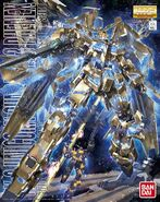 Unicorn Gundam 03 Phenex - MG Boxart
