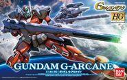 Gundam G-Arcane Boxart