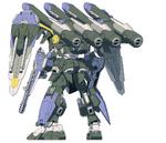 GAT-X131B Blau Calamity Gundam (Rear)