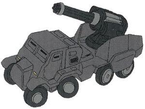 Gatlingtruck