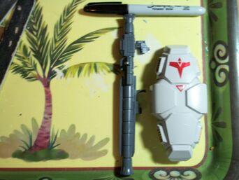 GPO2A HGUC Shield and Atomic Bazooka