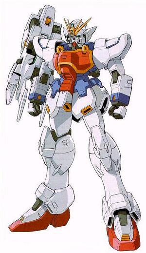 XXXG-01S - Shenlong Gundam Ver.Ka - Front View