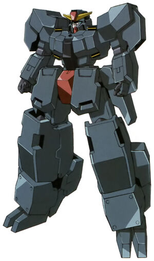 Seravee Gundam II Unarmed Front