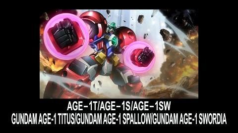 MSAG02 GUNDAM AGE-1 TITUS (from Mobile Suit Gundam AGE)