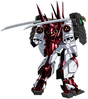 Sengoku Astray Gundam Rear