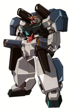 GN-008GNHW-B - Seravee Gundam GNHW-B - Front View