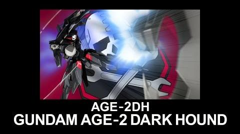 MSAG24 GUNDAM AGE-2 DARK HOUND (from Mobile Suit Gundam AGE)