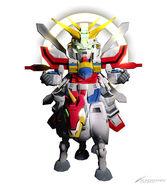 SDGO Fuunsaiki and Burning Gundam
