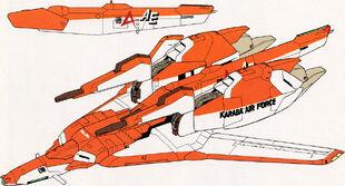 Waverider Mode (Amuro Ray colors)