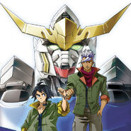 Mobile Suit Gundam Iron-Blooded Orphans manga poster