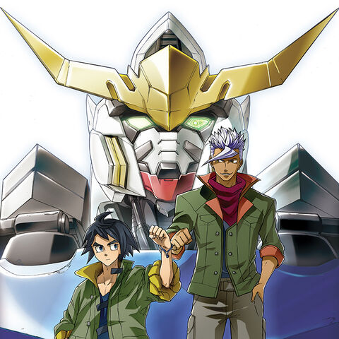 File:Mobile Suit Gundam Iron-Blooded Orphans manga poster.jpg