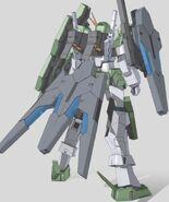 GN-006GNHWR Cherudim Gundam Rear