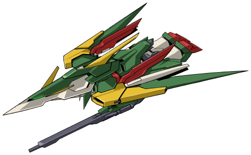 File:Wing Gundam Fenice Rinascita - MA Mode Front.png
