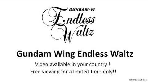 「Gundam Wing Endless Waltz 」 Free viewing for a limited time only!