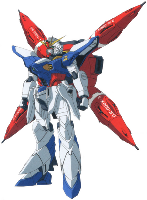 Dreadnaught Gundam DRAGOON Front View 2